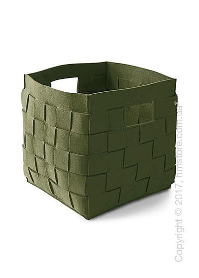Корзина Calligaris Connor, Polyester felt olive green