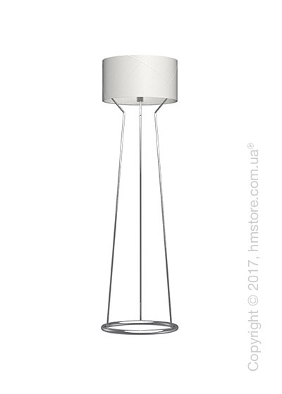 Напольный светильник Calligaris Lynx, Floor lamp, Metal chromed and Optic white
