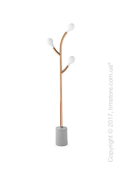 Напольный светильник Calligaris Pom Pom, Floor lamp, Metal copper