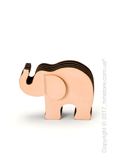 Подставка для ручек Graf von Faber-Castell, Elephant Made From Natural Leather, Medium