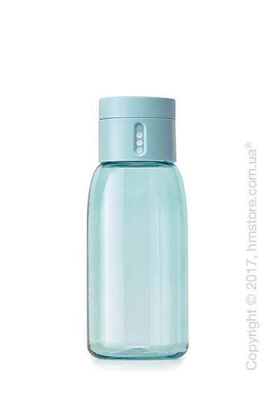 Бутылка для воды Joseph Joseph Dot with Hydration Counting Lid, Light Blue 400 мл