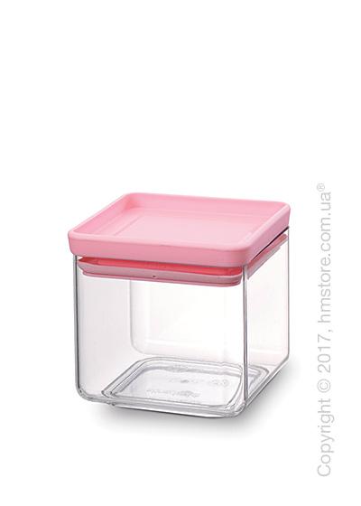 Емкость для хранения сыпучих продуктов Brabantia Square Canister 0,7 л, Pink