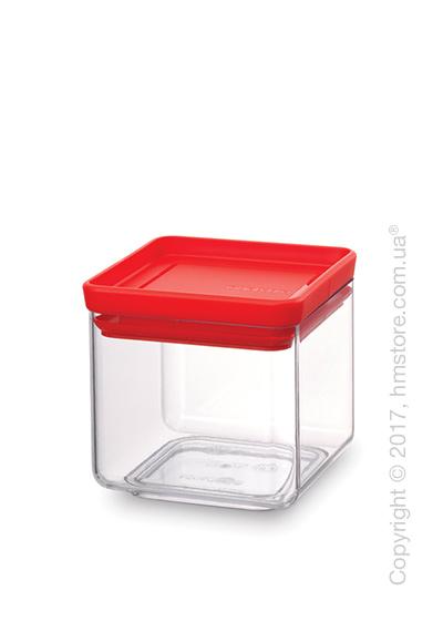 Емкость для хранения сыпучих продуктов Brabantia Square Canister 0,7 л, Red