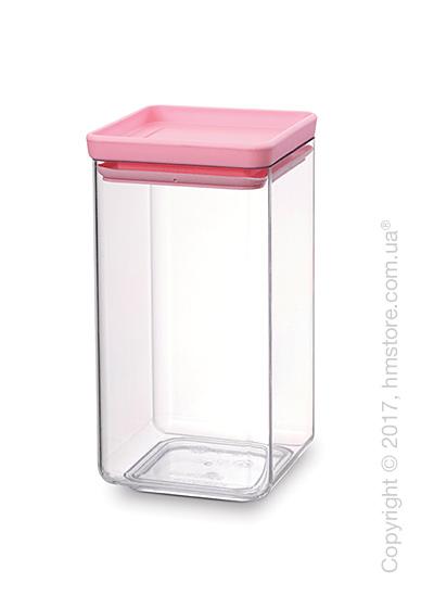 Емкость для хранения сыпучих продуктов Brabantia Square Canister 1,6 л, Pink