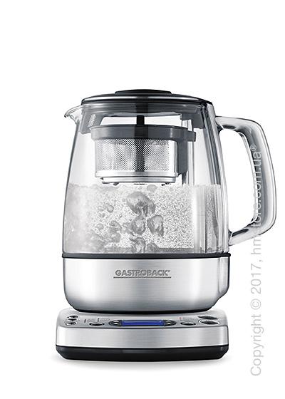 Чайник электрический с заварником Gastroback Gourmet Advanced Automatic Glass Teekocher 1.5 л