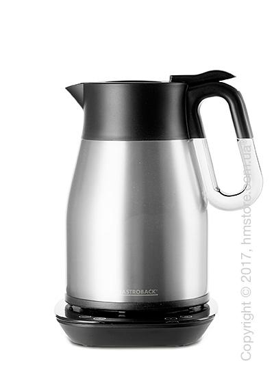 Чайник электрический Gastroback Advanced Thermo Design Wasserkoche 1.7 л, Brushed Stainless Steel