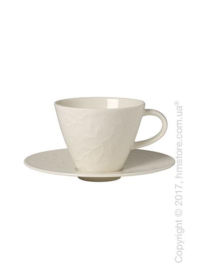 Чашка с блюдцем Villeroy & Boch коллекция Caffè Club Floral Touch 390 мл