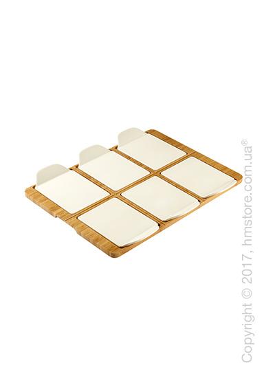 Блюдо прямоугольное для подачи пиццы Villeroy & Boch коллекция Pizza Passion