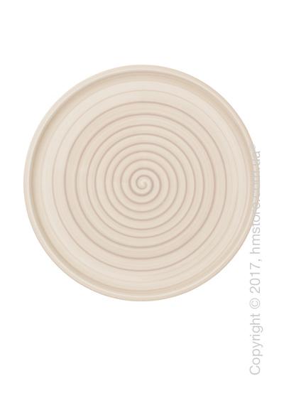 Тарелка для пиццы Villeroy & Boch коллекция Artesano Nature, Beige