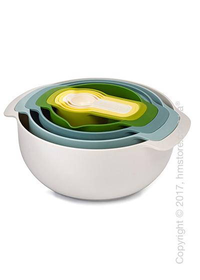 Набор мисок для приготовления Joseph Joseph Nest 9 Plus Opal