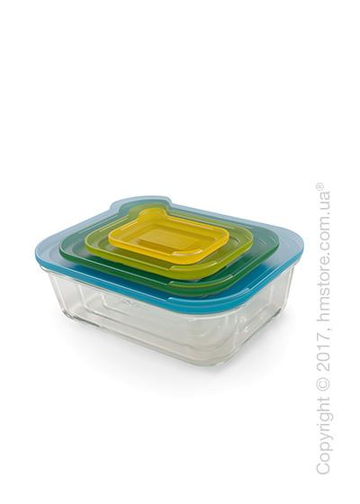 Набор контейнеров для хранения Joseph Joseph Nest Glass Storage, 4 предмета