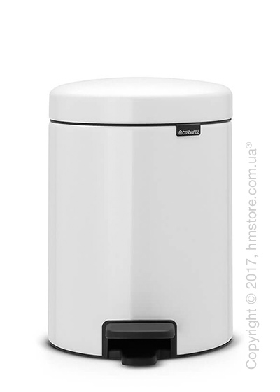 Ведро для мусора Brabantia Pedal Bin NewIcon Metal Inner Bucket 5 л, White