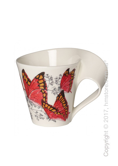 Чашка Villeroy & Boch коллекция New Wave Caffè, серия Animals of the World 250 мл, Noble Leafwing