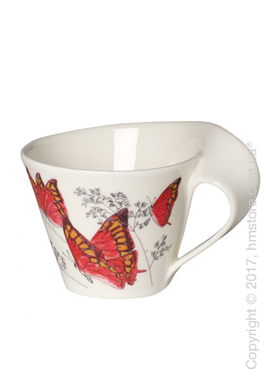 Чашка Villeroy & Boch коллекция New Wave Caffè, серия Animals of the World 400 мл, Noble Leafwing