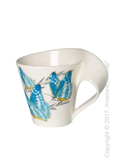 Чашка Villeroy & Boch коллекция New Wave Caffè, серия Animals of the World 250 мл, Morpho Cypris