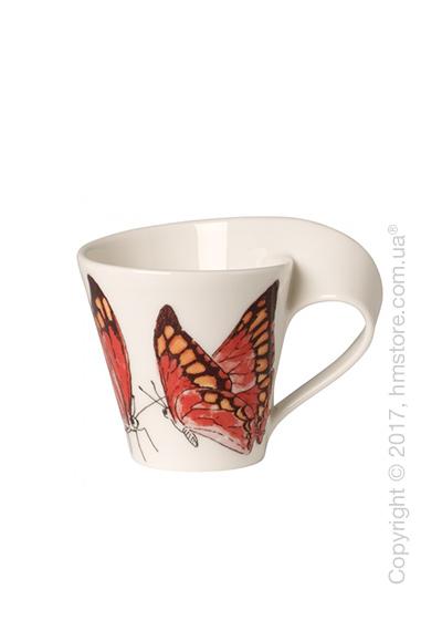 Чашка для эспрессо Villeroy & Boch коллекция New Wave Caffè, серия Animals of the World 80 мл, Noble Leafwing
