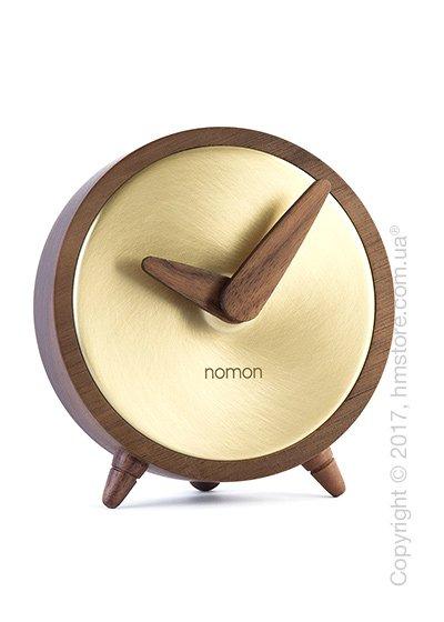 Часы настольные Nomon Atomo Sobremesa, Gold