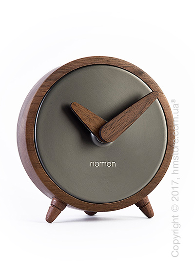 Часы настольные Nomon Atomo Sobremesa, Graphite