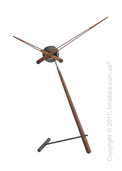 Часы настольные Nomon Puntero T Desktop Clock, Walnut