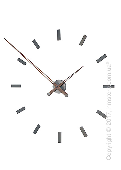 Часы настенные Nomon Tacon 12 T Wall Clock, Walnut