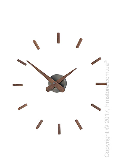 Часы настенные Nomon Sunset T Wall Clock, Walnut