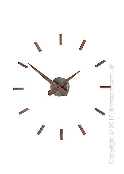 Часы настенные Nomon Sunset T Wall Clock, Walnut