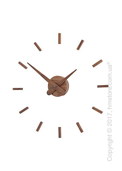 Часы настенные Nomon Sunset N Wall Clock, Walnut