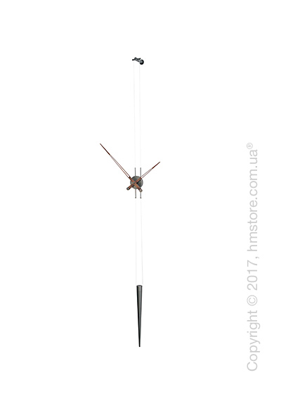 Часы настенные Nomon Pendulo T Wall Clock, Graphite