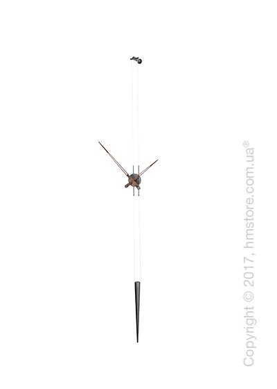 Часы настенные Nomon Pendulo T Wall Clock, Graphite