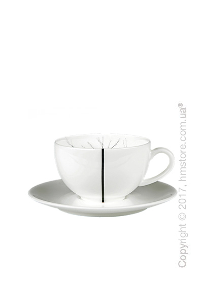Чашка для эспрессо с блюдцем Dibbern коллекция Black Forest, 110 мл