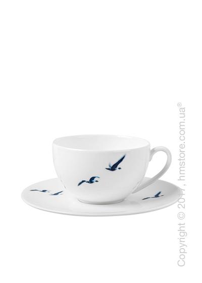 Чашка с блюдцем Dibbern коллекция Blue Birds, 250 мл