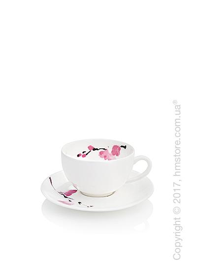Чашка для эспрессо с блюдцем Dibbern коллекция Cherry Blossom, 110 мл