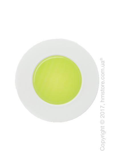 Тарелка пирожковая Dibbern коллекция Spot, Green