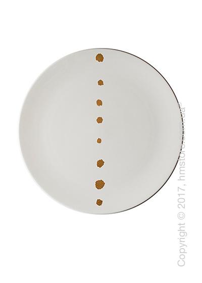 Тарелка столовая мелкая Dibbern коллекция Golden Pearls, 28 см