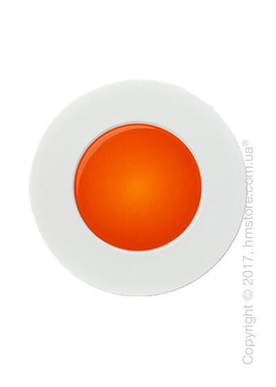 Тарелка десертная мелкая Dibbern коллекция Spot, 22 см, Red