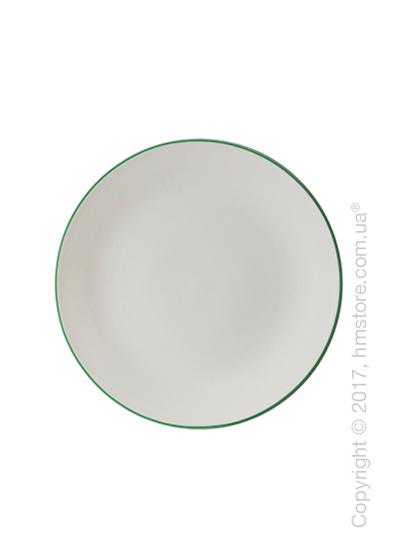 Тарелка пирожковая Dibbern коллекция Simplicity, Green