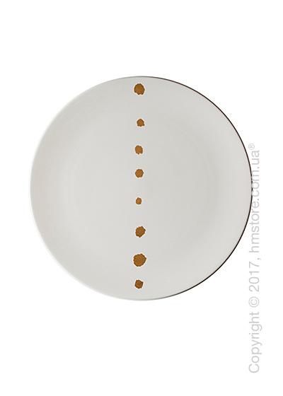 Тарелка десертная мелкая Dibbern коллекция Golden Pearls, 21 см