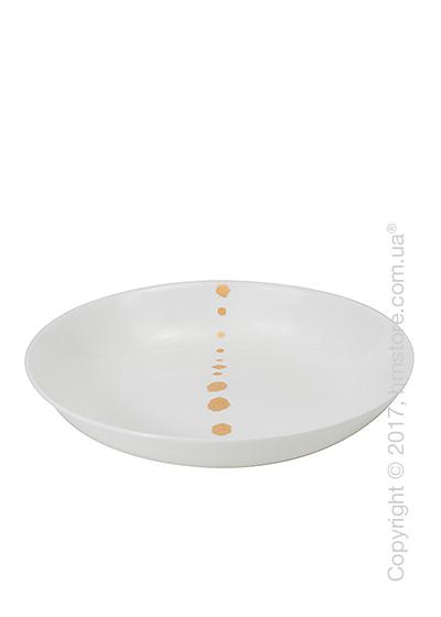 Тарелка столовая глубокая Dibbern коллекция Golden Pearls