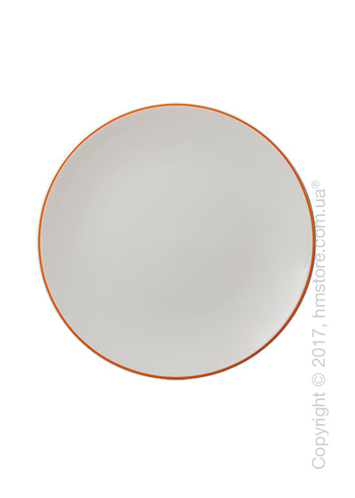 Тарелка десертная мелкая Dibbern коллекция Simplicity, 21 см, Orange