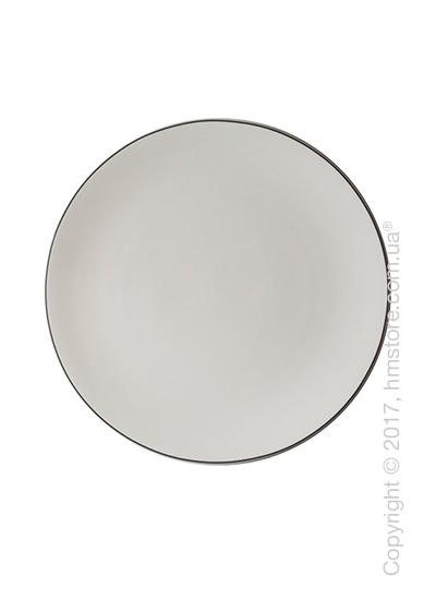 Тарелка столовая мелкая Dibbern коллекция Simplicity, 28 см, Grey