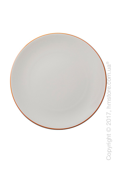 Тарелка столовая мелкая Dibbern коллекция Simplicity, 28 см, Orange