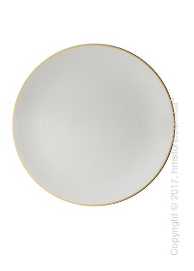 Тарелка столовая мелкая Dibbern коллекция Simplicity, 32 см, Yellow