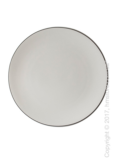 Тарелка столовая мелкая Dibbern коллекция Simplicity, 32 см, Grey