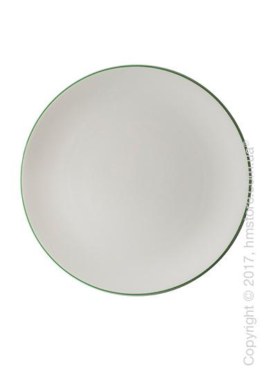 Тарелка столовая мелкая Dibbern коллекция Simplicity, 32 см, Green