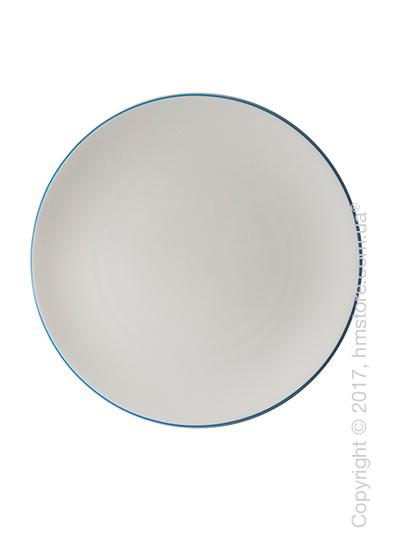 Тарелка столовая мелкая Dibbern коллекция Simplicity, 32 см, Blue