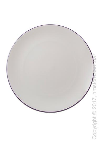 Тарелка столовая мелкая Dibbern коллекция Simplicity, 32 см, Lilac