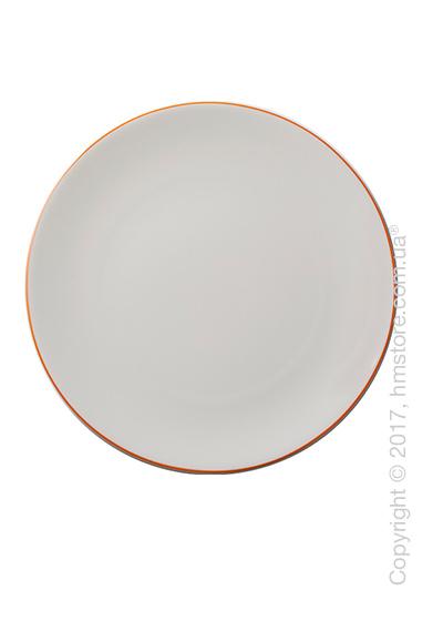 Тарелка столовая мелкая Dibbern коллекция Simplicity, 32 см, Orange