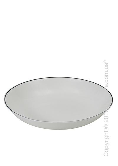 Тарелка столовая глубокая Dibbern коллекция Simplicity, Black