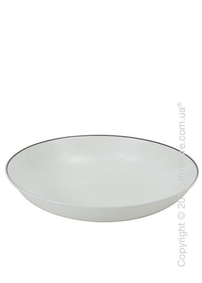 Тарелка столовая глубокая Dibbern коллекция Simplicity, Grey