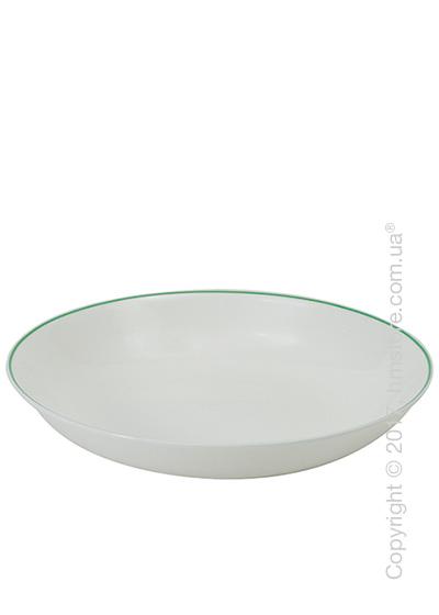 Тарелка столовая глубокая Dibbern коллекция Simplicity, Green